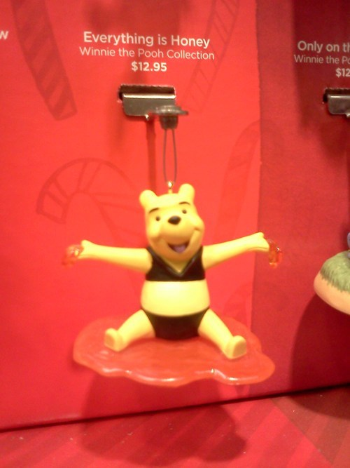 "Nothing Says ""Happy 1st MtF Christmas"" Like a Pooh in a Bikini Ornament!"