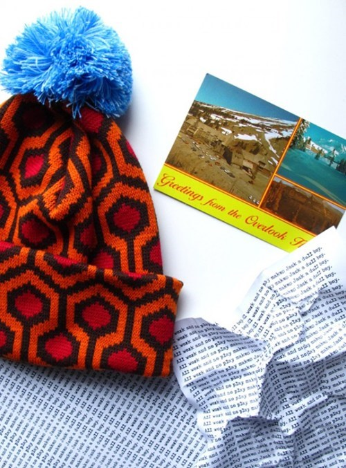The Shining Carpet Pattern Knit Cap