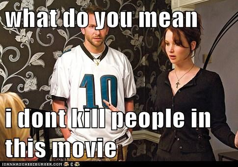 silver linings playbook,Movie,actor,jennifer lawrence,funny,bradley cooper