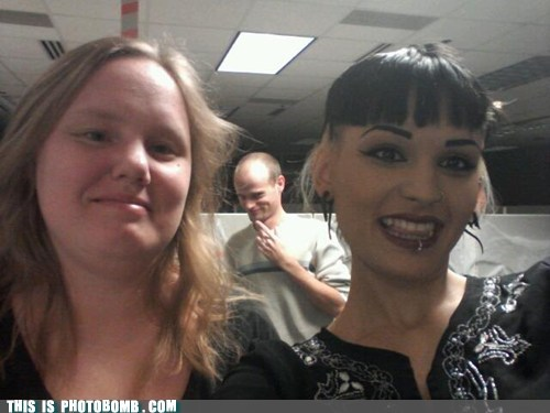 Photobomb level:  Creeper