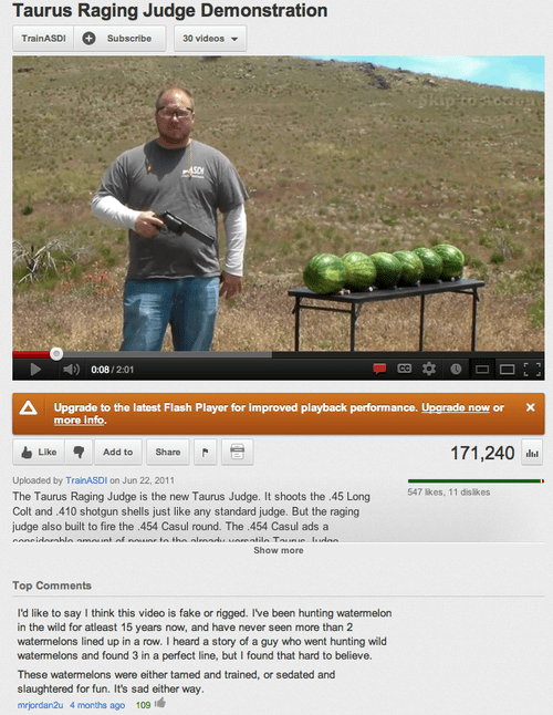 Hunting Watermelons Is Tough