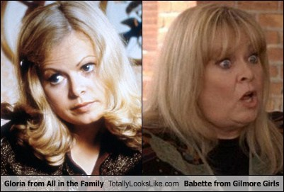 Gloria from All in the Family Totally Looks Like Babette from Gilmore Girls