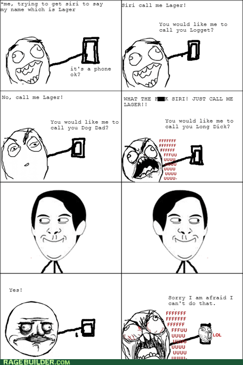 rage guy,smart phone,siri,me gusta,apple,FUUUUU,iphone