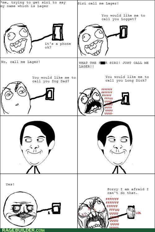 Siri is evil!