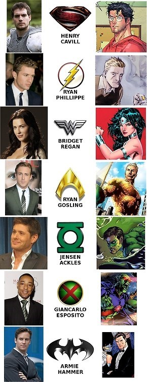 The JLA Fan Cast