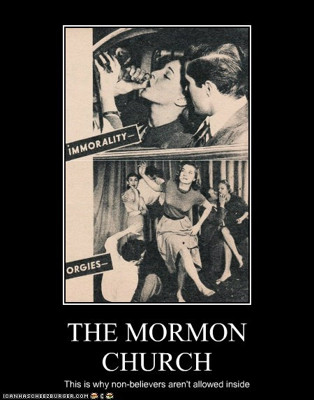 THE MORMON CHURCH