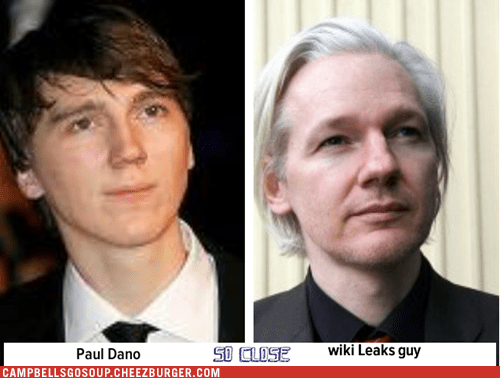 Paul Dano totally looks like wiki Leaks guy