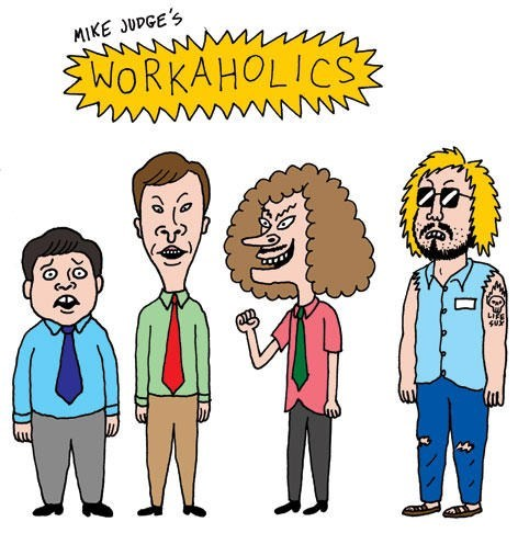 workaholics,animation,TV,mike judge,funny