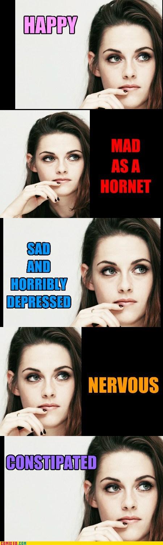 Kristen Stewart's Acting Expressions