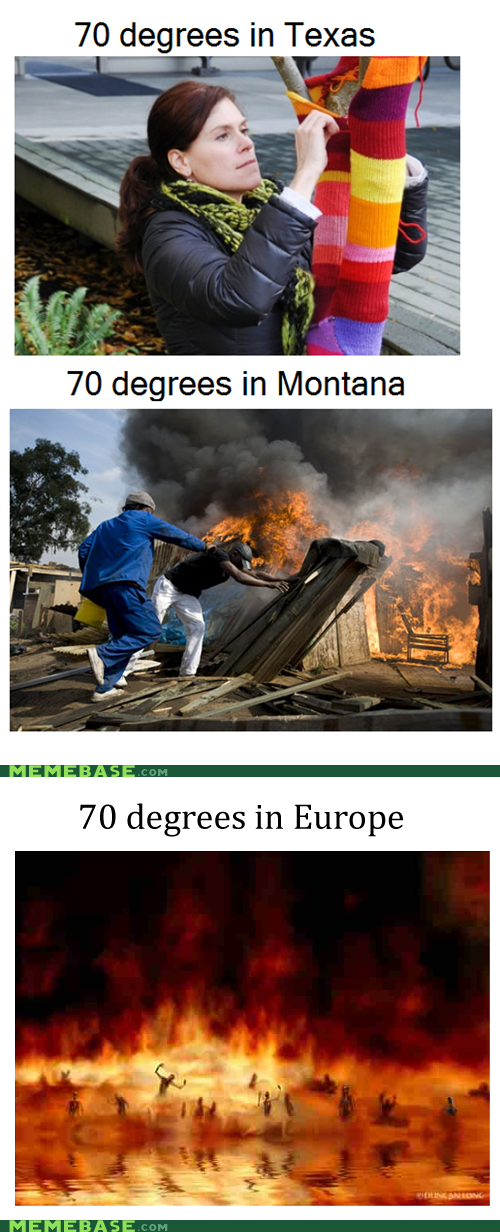 europe,Montana,texas,temperature