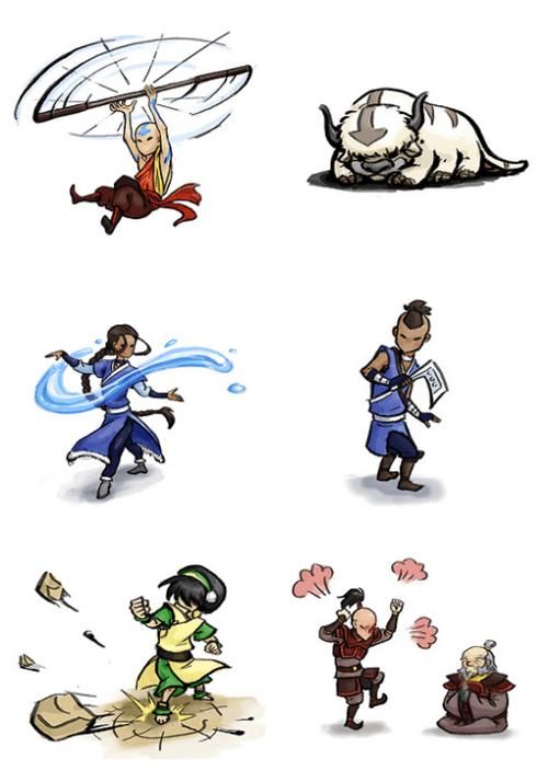 Avatar the Last Okami