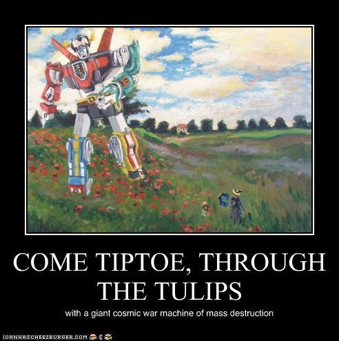 COME TIPTOE, THROUGH THE TULIPS