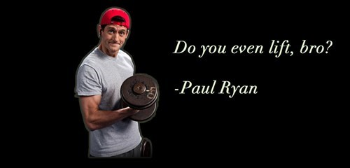 do you even lift,paul ryan,weights,quote