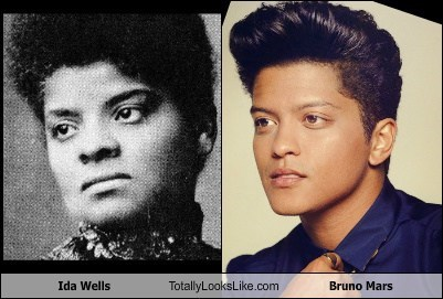 Ida Wells Totally Looks Like Bruno Mars