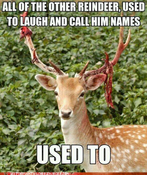 Rudolph Play Only the Deadliest Games