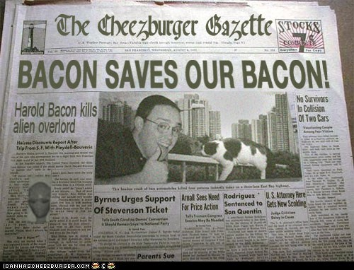 Bacon Saves Our Bacon!
