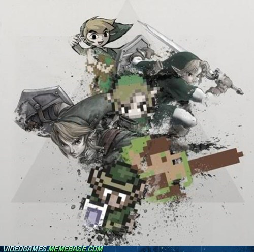 link,evolution,awesome,zelda