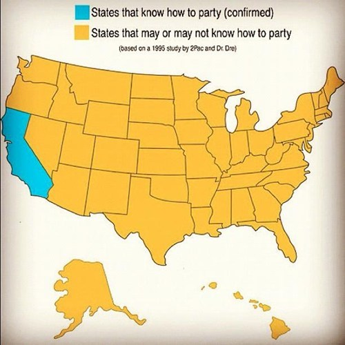 States That Know How to Party