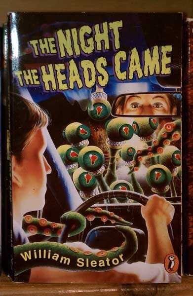 WTF Sci-Fi Book Covers: The Night the Heads Came