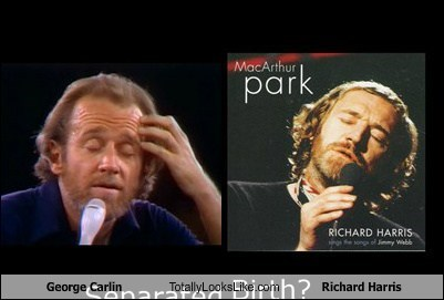 George Carlin Totally Looks Like Richard Harris