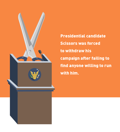 literalism,running,scissors,running with scissors,double meaning,politics