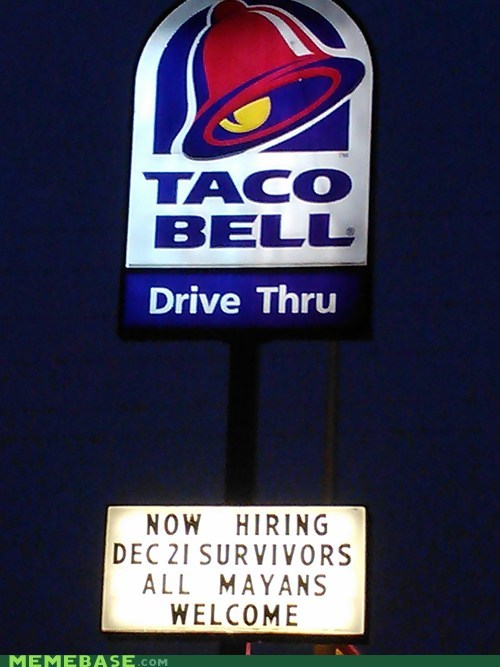 Taco Bell is preparing for the worst.