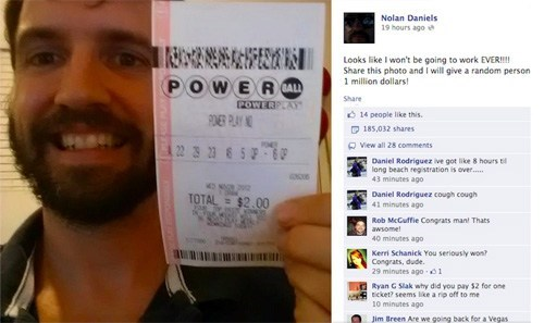 This Looks Shopped: Fake Winning Powerball Ticket