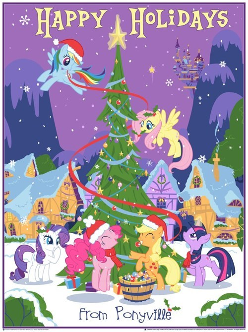 OFFICIAL MLP CHRISTMAS PRINTS ON SALE NEXT WEEK!!!!!