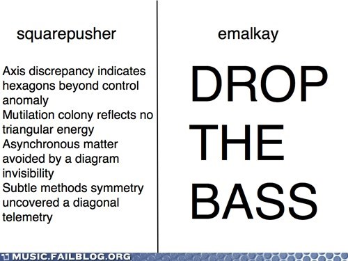 Squarepusher vs Emalkay