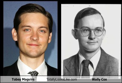 Tobey Maguire Totally Looks Like Wally Cox