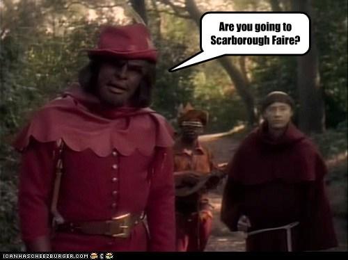 brent spiner,Michael Dorn,Worf,scarborough fair,levar burton,the next generation,data,Star Trek,Geordi Laforge