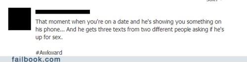 Awkward Date Moment