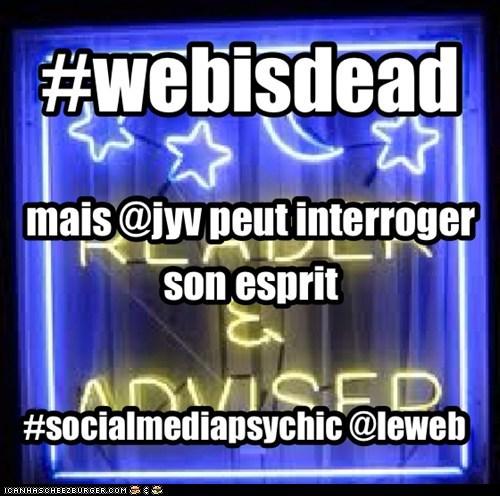 #webisdead