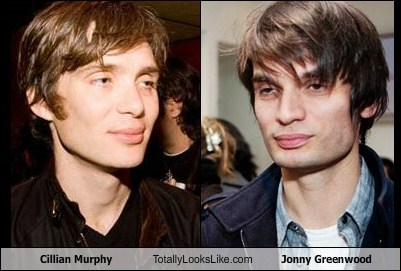 Cillian Murphy Totally Looks Like Jonny Greenwood