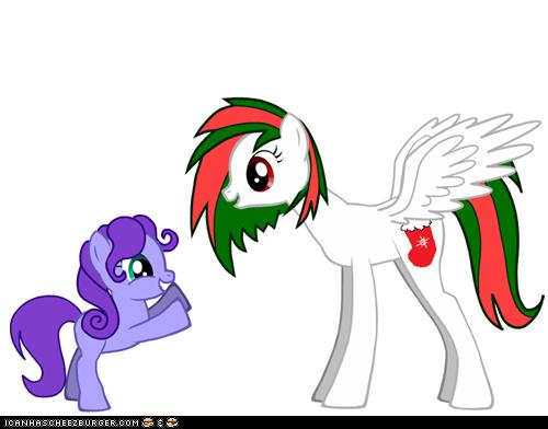 santa pony!