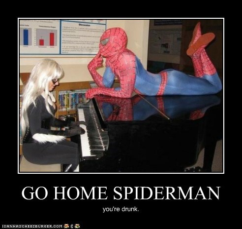GO HOME SPIDERMAN