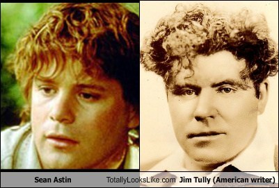 Sean Astin Totally Looks Like Jim Tully (American Writer)