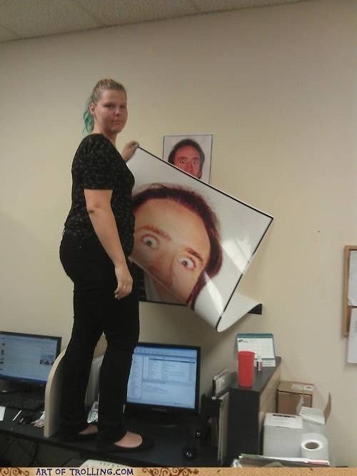 She Used the Big Printer