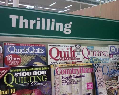thrilling,quilt,quilting,monday thru friday,g rated