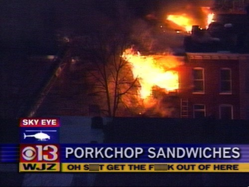You're Gonna Burn the Sandwiches
