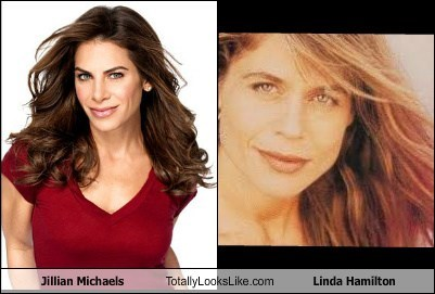 Jillian Michaels Totally Looks Like Linda Hamilton