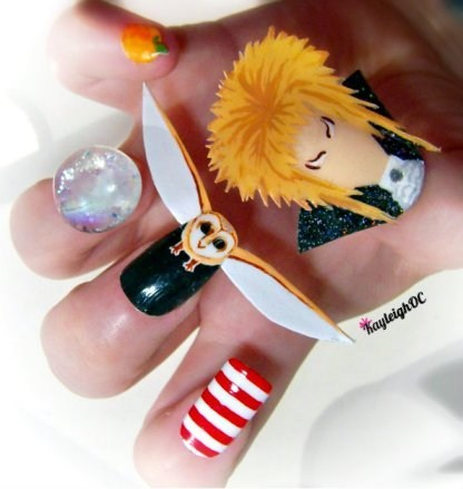 If Style Could Kill: Labyrinth Manicure