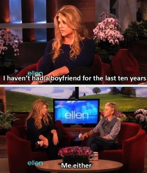Ellen Feels Your Pain