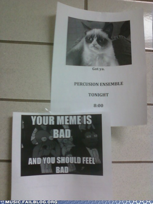 Grumpy Cat Meme: You're Doing it Wrong
