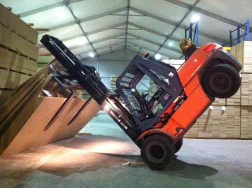 Heavy Lifting FAIL