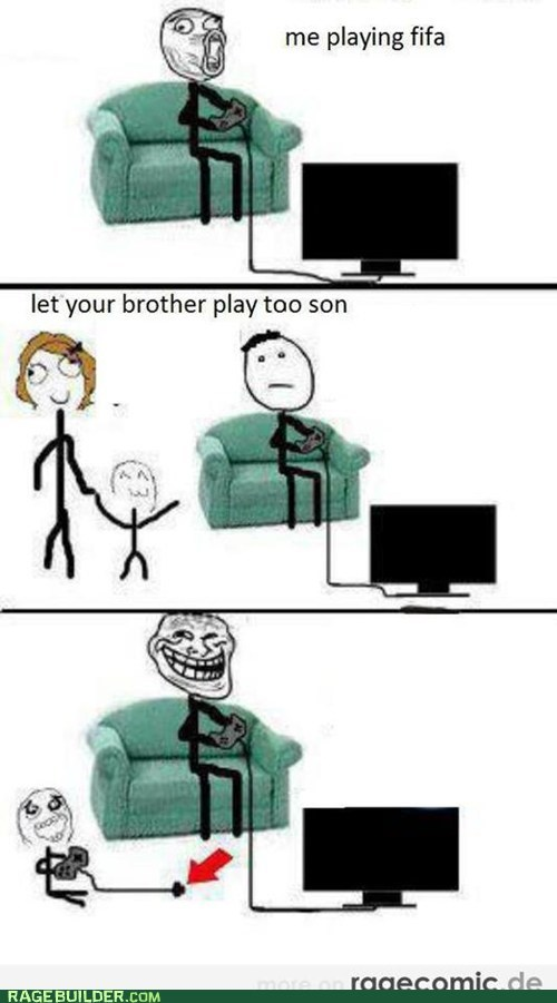 How to troll your little bro!