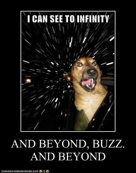 AND BEYOND, BUZZ.  AND BEYOND