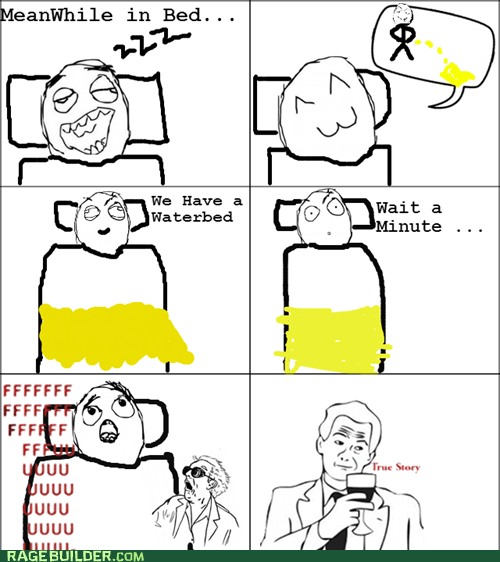 Pee in Bed