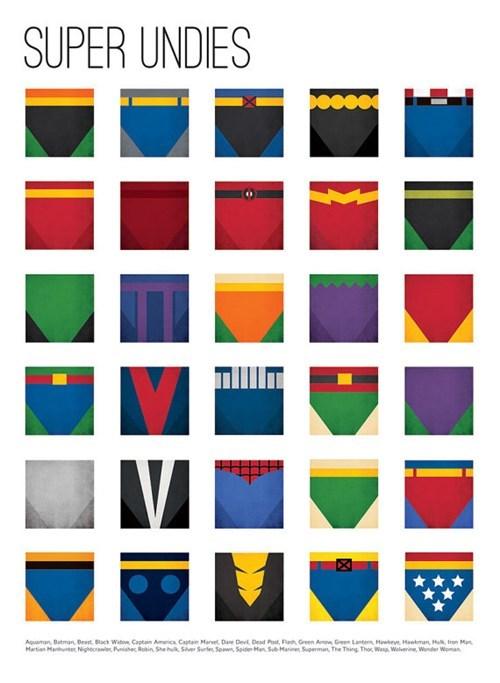 comics,outside,superheroes,underwear