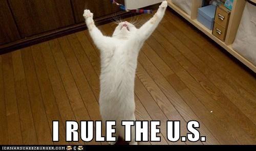 I RULE THE U.S.